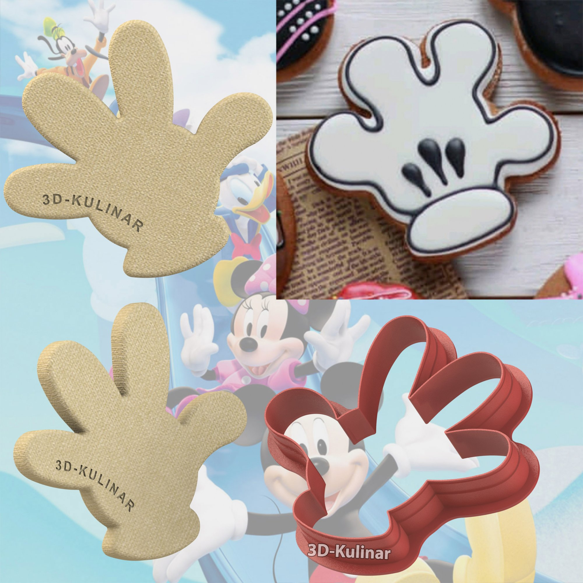 "Cookie cutter ""Hand"""
