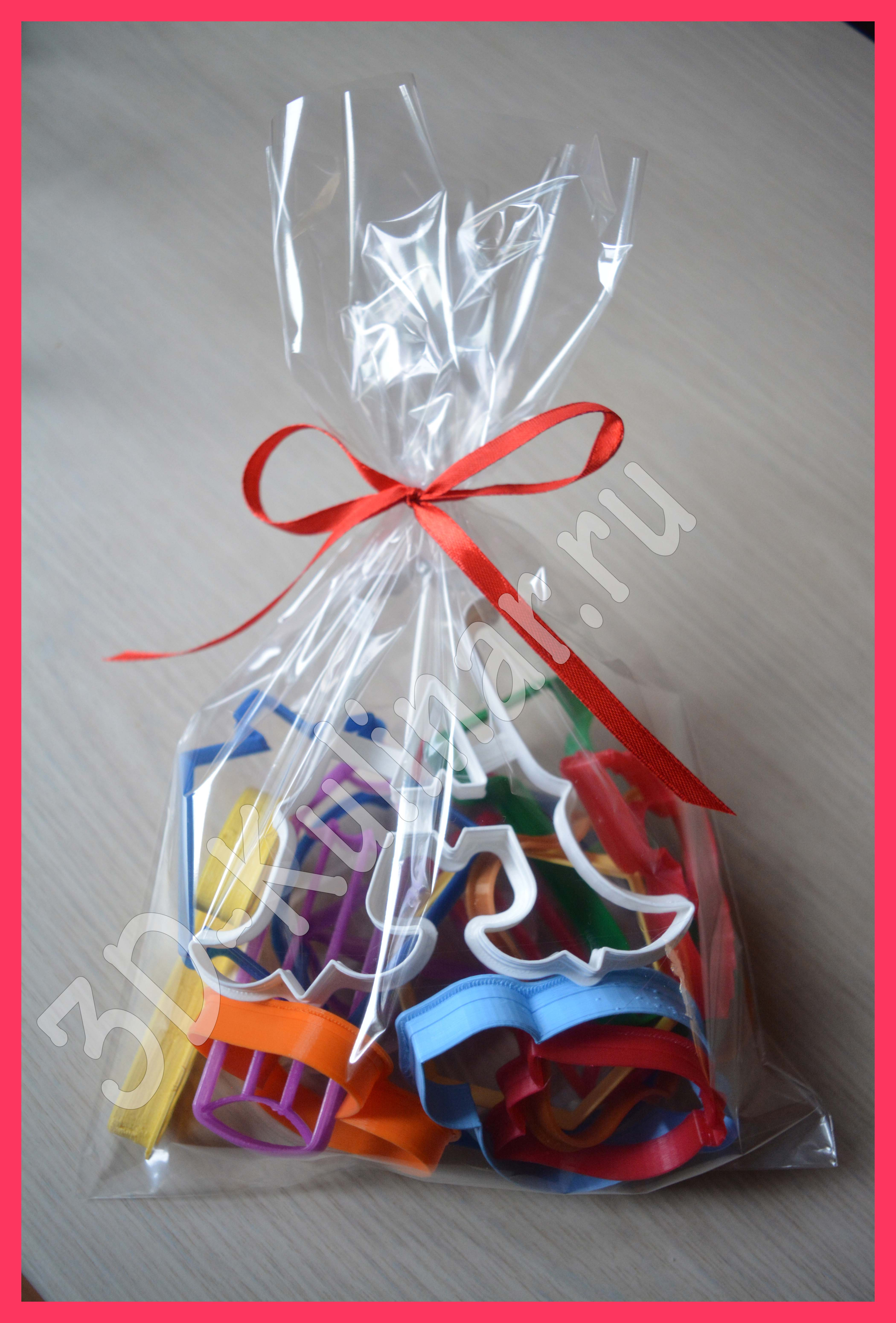 Confectionery transparent bag, 20*30 cm