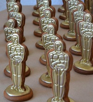 "Cookie cutter set ""Oscar Statue №2"""
