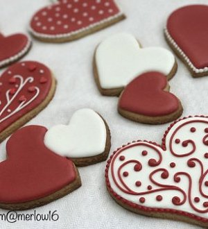 "Cookie cutter ""Two heart"""