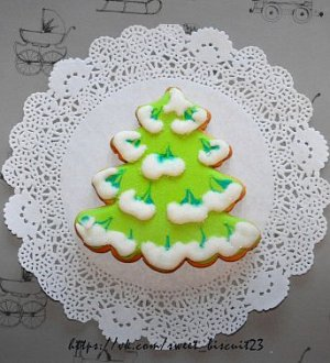 "Cookie cutter ""Christmas tree №7"""