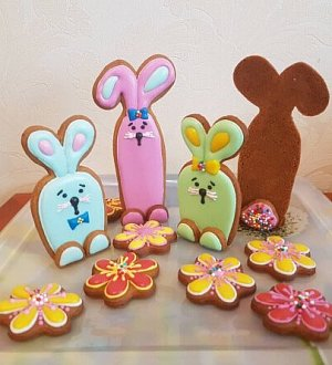 "Cookie cutter set ""Rabbits"""