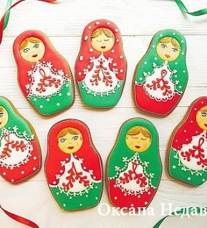 "Cookie cutter ""Matryoshka"""
