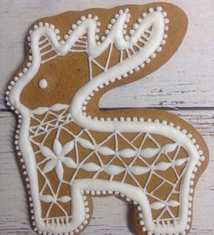 "Cookie cutter ""Deer №8"""