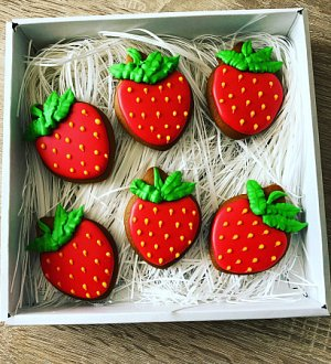 "Cookie cutter ""Strawberry №2"""