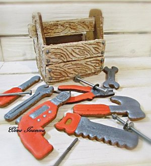 "Cookie cutter set ""3D Toolbox"""