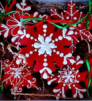 "Cookie cutter ""Snowflake №2"""