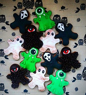 "Сookie cutter ""Halloween. Ghost №3"""