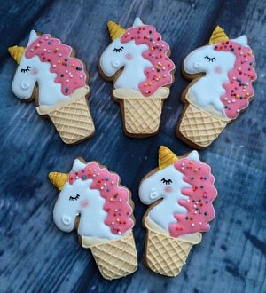 "Cookie cutter ""Unicorn №4"""