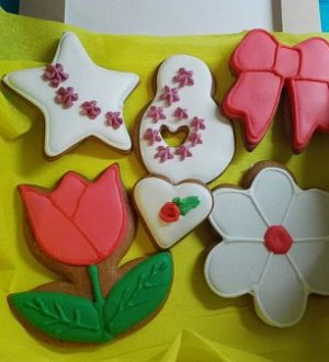"Cookie cutter ""Flower tulip"""