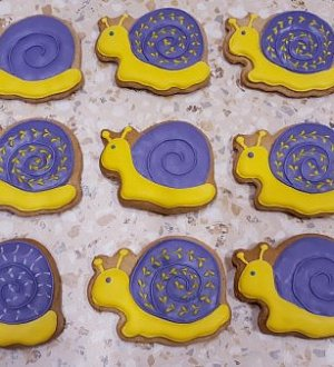 "Stamp + cookie cutter ""Snail №2"""