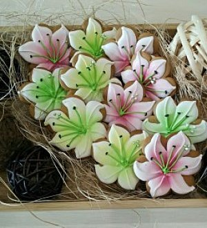 "Cookie cutter ""Flower. Lily"""