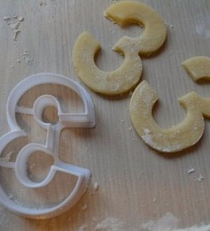 "Cookie cutter ""Numbers height 10 cm"""