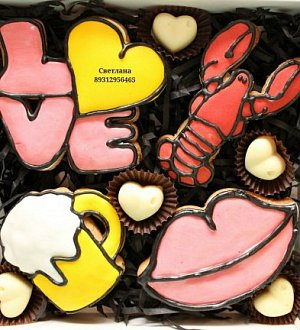 "Cookie cutter ""LOVE №2"""