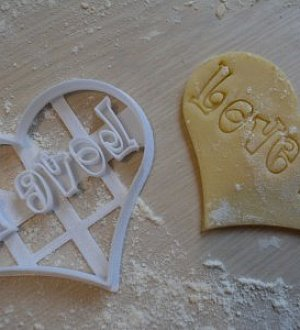 "Cookie cutter ""Love Is..."""
